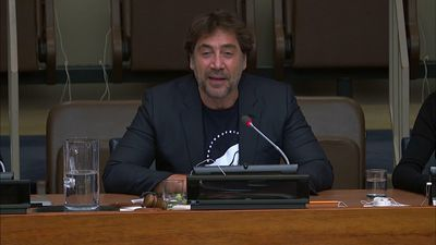 Bardem says 'pay attention' to nature
