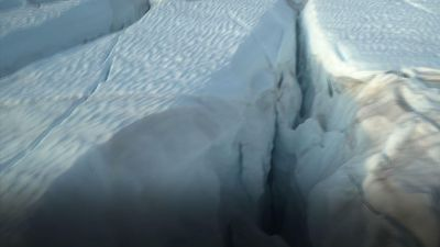 Researchers study Greenland's shrinking glaciers