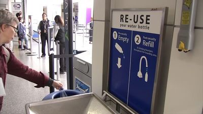San Francisco airport begins plastic bottle ban