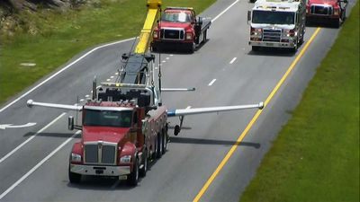 Small plane makes emergency landing on FL roadway