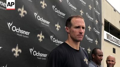 Saints' Brees discusses game vs Jets