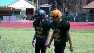 Paradise HS preps for 1st football game since fire