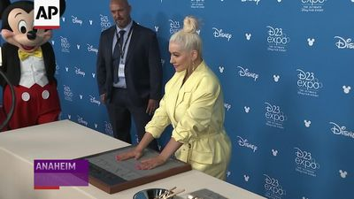 Aguilera: Disney Legend honor is 'cooler than a Grammy'