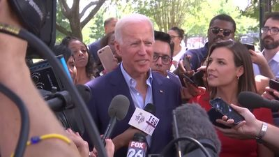 Biden visits HBCU, shrugs off comments on age