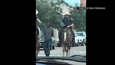 Galveston protesters demand horseback arrest video