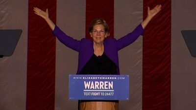 Warren: 'Donald Trump is corruption in the flesh'
