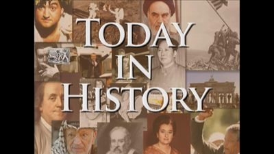 Today in History for September 18th