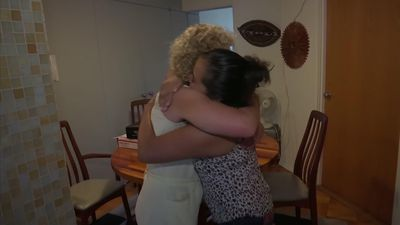 Host families welcome migrants from border crisis