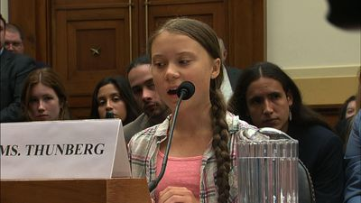 Greta Thunberg takes climate fight to Congress