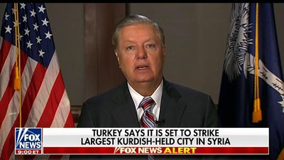 Graham: Turkey will face 'crippling sanctions'