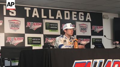 Ryan Blaney gets big NASCAR win at Talladega