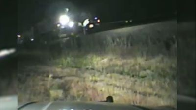 Video shows daring Utah rescue from oncoming train