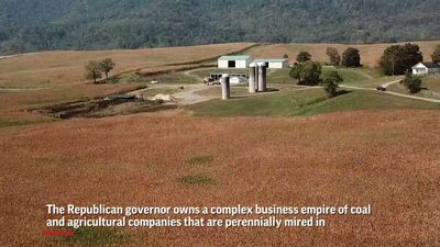 Billionaire governor's family farms get subsidy