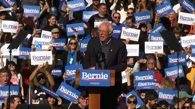 'I am back,' Bernie Sanders tells supporters