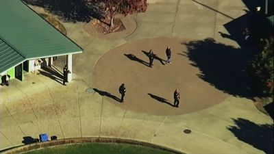 Student arrested in class after shooting at school