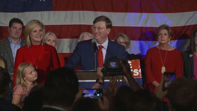 Republican wins competitive Mississippi gov. race