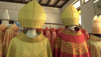 Bespoke robes await Pope Francis on Thailand visit