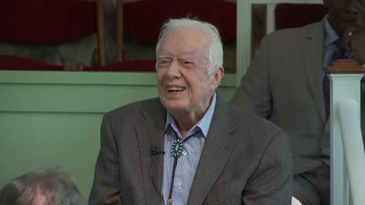 Former president Jimmy Carter out of surgery