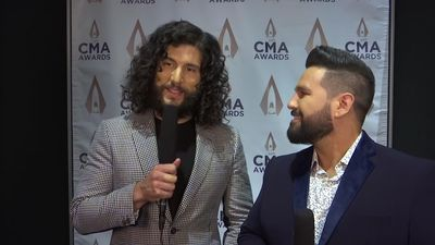 Dan + Shay: 'It was pretty insane to be at Justin's wedding'
