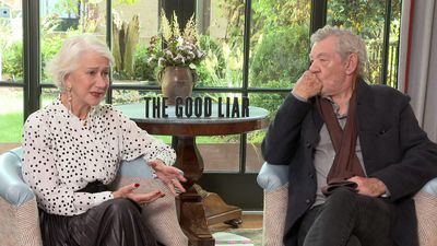 Mirren, McKellen team for 'The Good Liar'