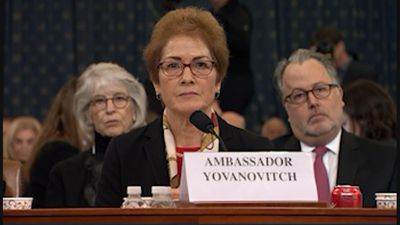 Yovanovitch 'shocked' at rough transcript of call