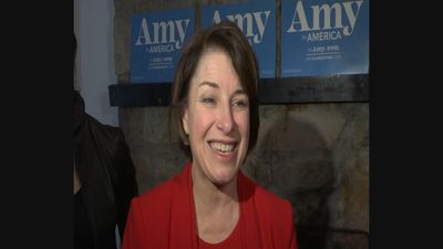 Klobuchar: Health care driving up poll numbers