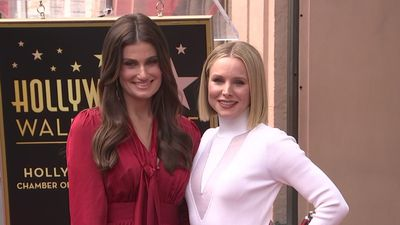 Walk of Fame stars for Kristen Bell, Idina Menzel