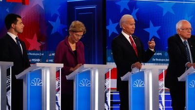 AP Analysis: Democratic debate in Atlanta