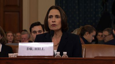 Hill decries partisan division during testimony