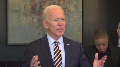 Biden speaks at an event in Atlanta after debate