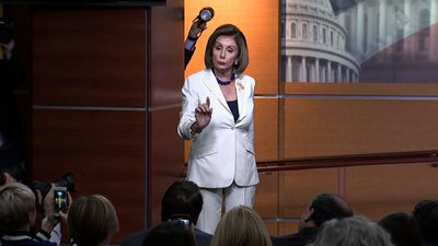 Pelosi rebukes reporter: 'Don't mess with me'
