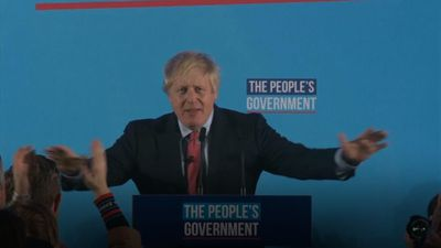 """Johnson tells supporters after win """"we did it!"""""""