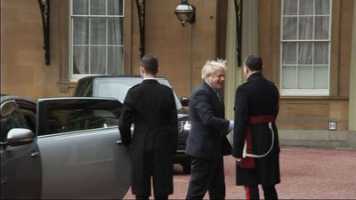 Johnson visits queen to ask to form government