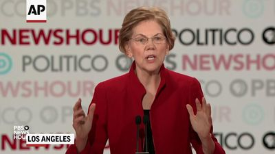 Warren, Buttigieg spar over fundraiser, wine caves