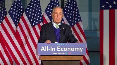 Bloomberg unveils sketch of his economic plan