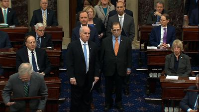 House presents articles of impeachment to Senate