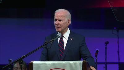 Biden to black church group: Trump fanning hate