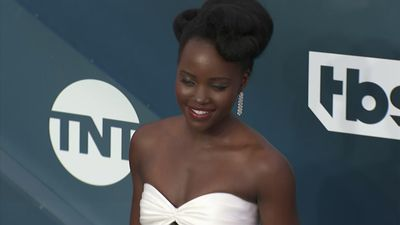 Stars donned classic black and white at SAG Awards