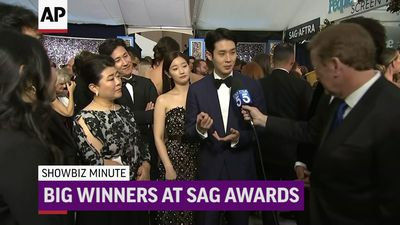 ShowBiz Minute: SAG Awards, Prince Harry, US Box Office