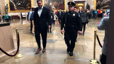 House managers walk-through Senate prior to trial