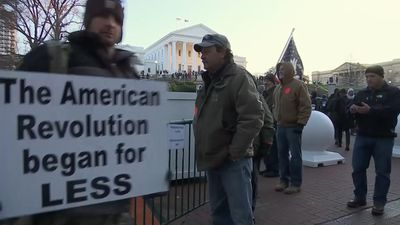 Pro-gun rally in Virginia ends peacefully