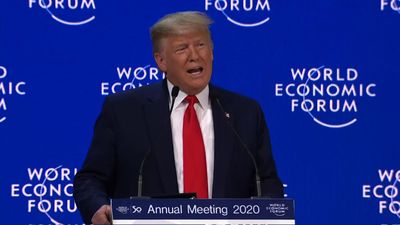 Trump at Davos: We must reject 'prophets of doom'