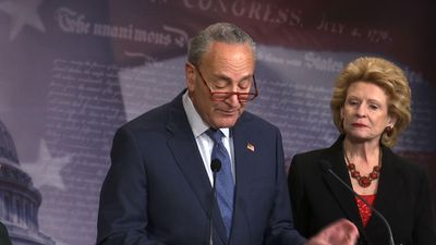 Schumer: McConnell trial plan a national disgrace