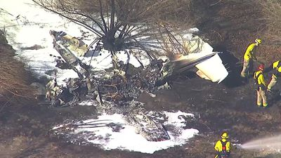 Small plane crashes in Calif., 4 reported dead