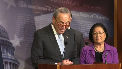 Schumer: Still no deal on trial witnesses