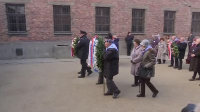 Survivors mark 75 years since Auschwitz liberation