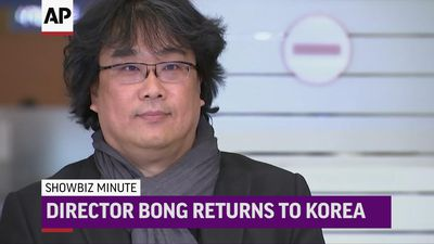 ShowBiz Minute: John, Bong Joon-ho, US Box Office