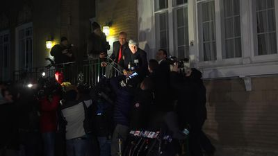Ex-Gov. Blagojevich, out of prison, returns home