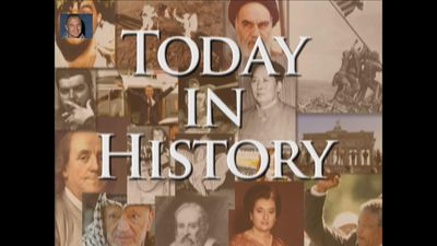 Today in History for February 20th