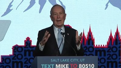 Bloomberg campaigns in Utah after first debate